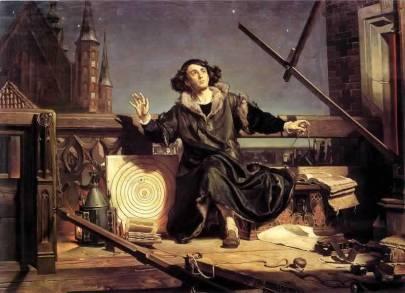 """""""Astronom Kopernik, czyli rozmowa z Bogiem"""" Jana Matejki /www.wikipedia.org"""
