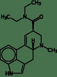 Dietyloamid kwasu D-lizergowego, LSD-25 /www.wikipedia.org