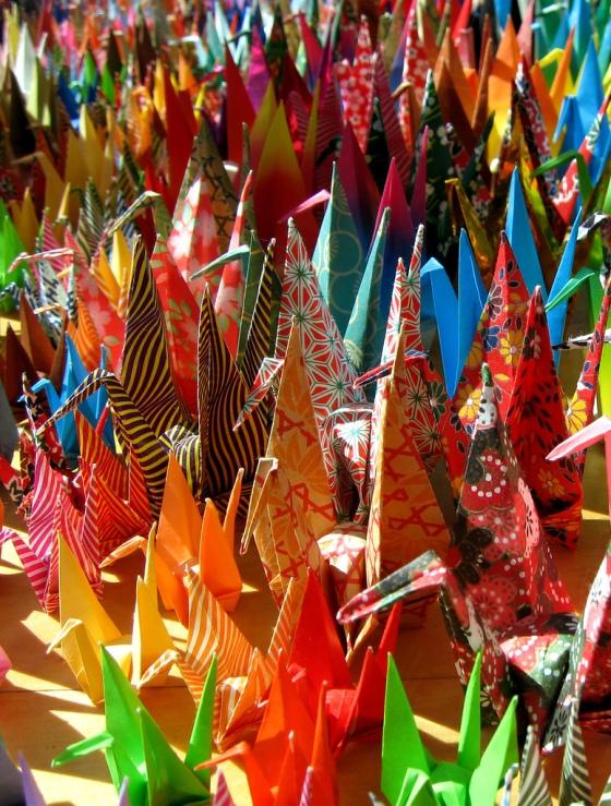 Origami - papierowa inspiracja nanobotów, a teraz także przełomu w taniej diagnostyce. /źródło: flickr; Jacy Ippolito (CC BY-ND 2.0)