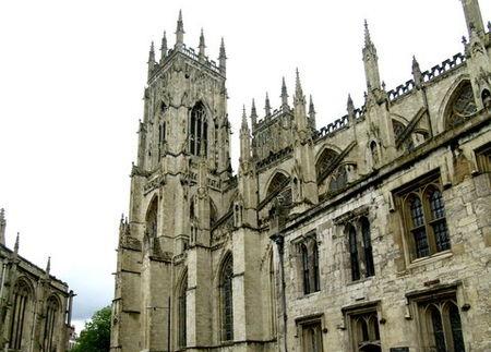 Katedra York Minster w Yorku. /źródło: wiki; Andy Beecroft (CC BY-SA 2.0)
