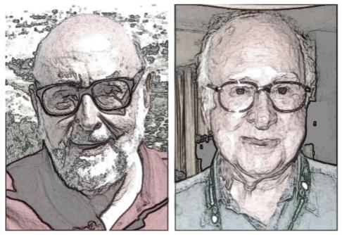 Tegoroczni laureaci Nagrody Nobla z fizyki: z lewej Francois Englert, z prawej Peter Higgs.