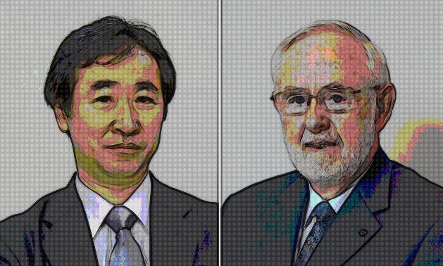 Takaaki Kajita oraz Arthur B. McDonald